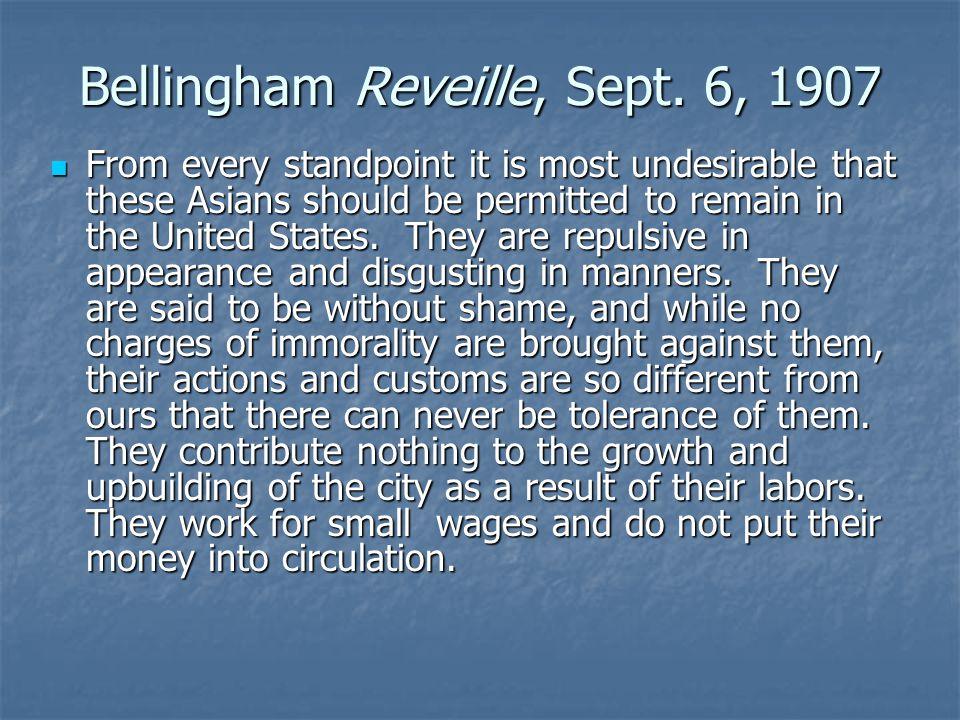 Bellingham Reveille, Sept.