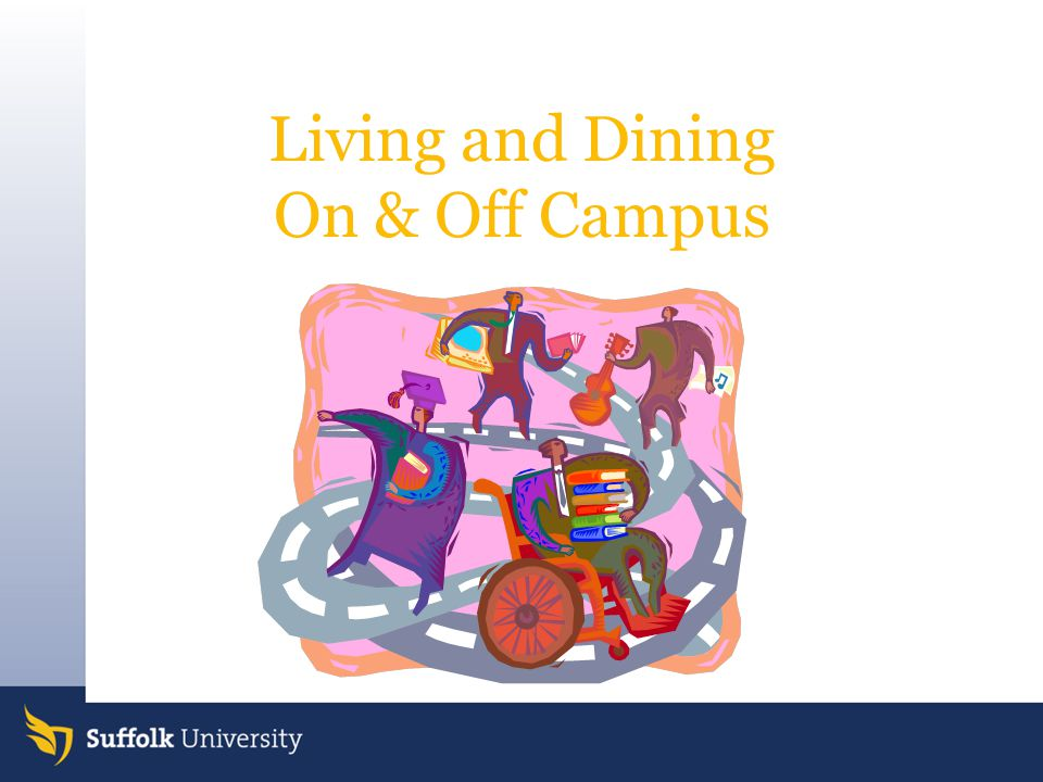 Campus Dining Locations: Donahue Café –Monday–Thursday: 8:00am – 5:00pm –Friday: 8:00am – 3:00pm Sawyer Café –Monday–Thursday: 7:45am – 7:30pm –Friday: 7:45am – 3:00pm Miller Café –Monday-Thursday: 7:00am – 11:00pm –Fridays 7:00am-10:00pm –Weekends/Holidays: 10:30am – 10:00pm 150 Tremont Café –Monday–Thursday: 7:00am – 11:00pm –Fridays 7:00 am – 10:00pm –Weekends/Holidays: 10:30am – 10:00pm 73 Tremont Café –Monday – Thursday 7 am – 8 pm –Friday 7 am – 4 pm – *Please note: Off-campus students must be accompanied by a resident student to dine at the residence halls 73 TREMONT CAFÉ