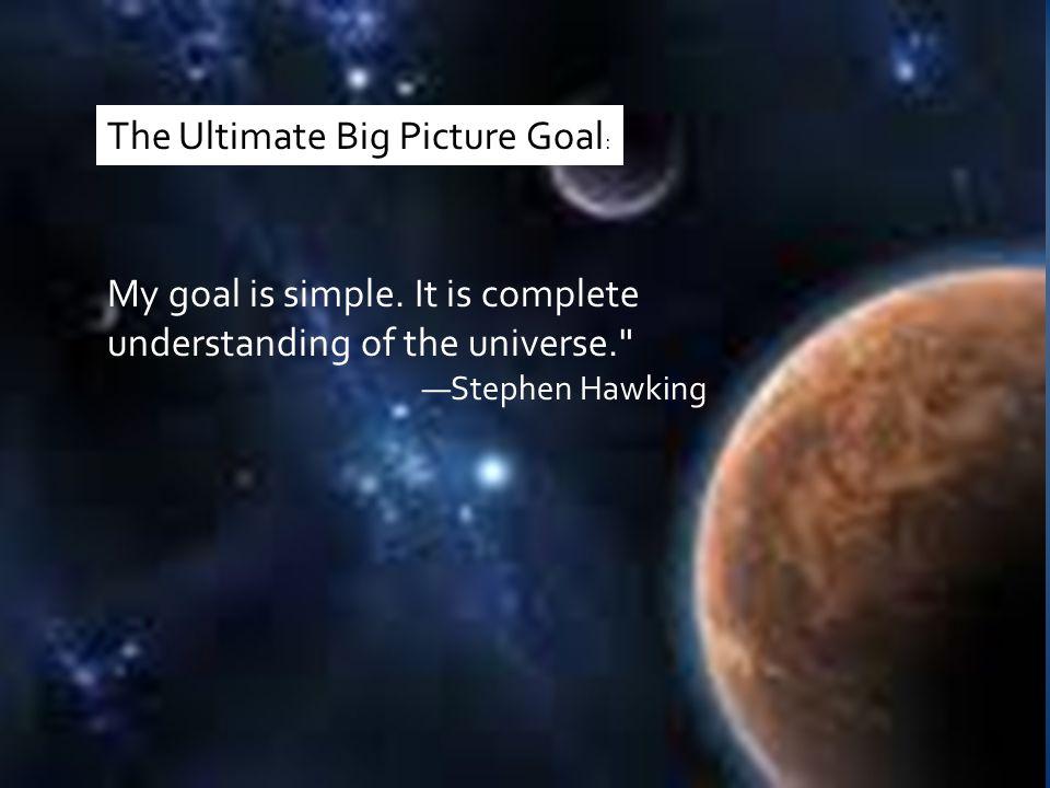 My goal is simple.