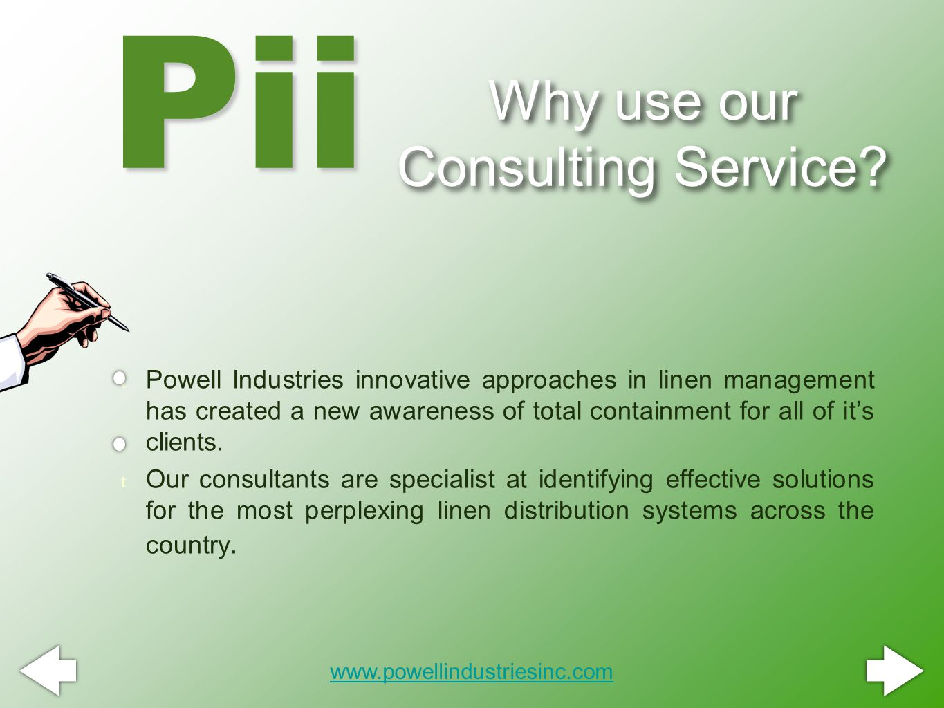 Why use our Consulting Service.