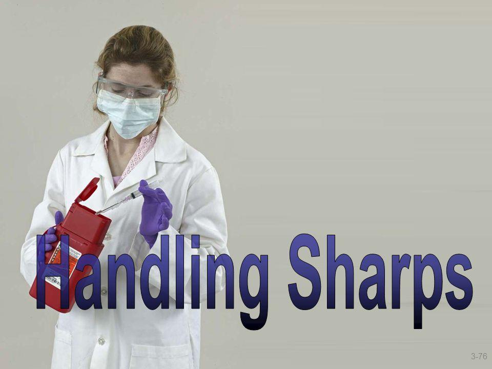 Handling Sharps 3-76