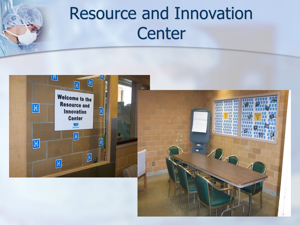 Resource and Innovation Center