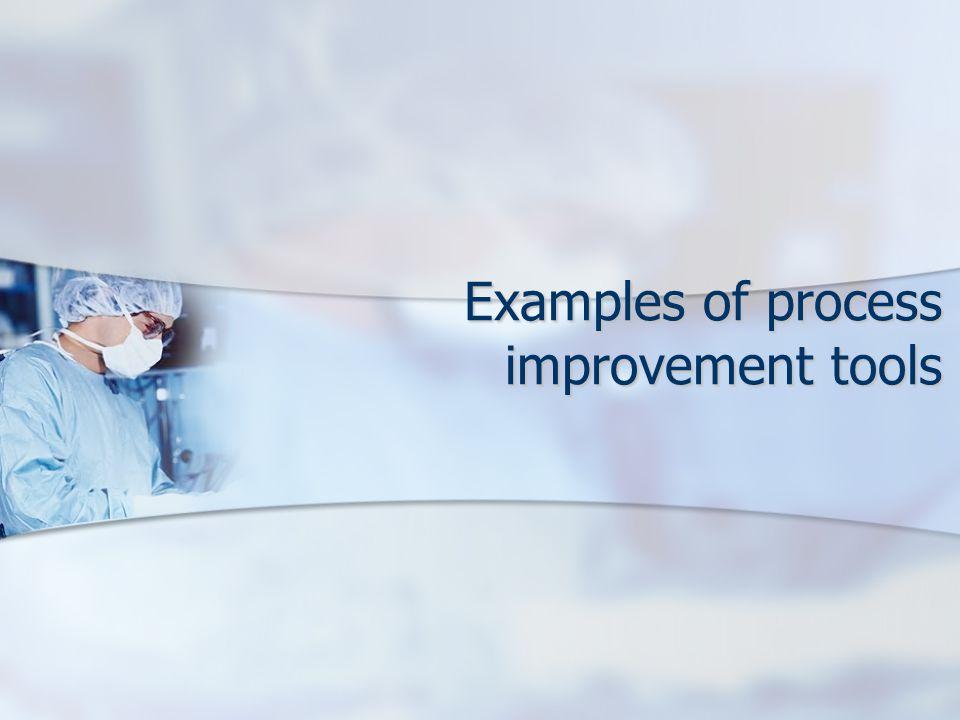 Examples of process improvement tools