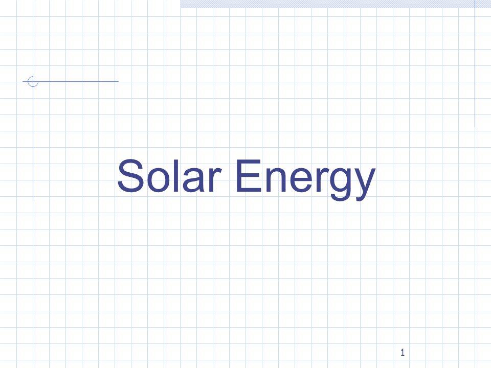 1 Solar Energy