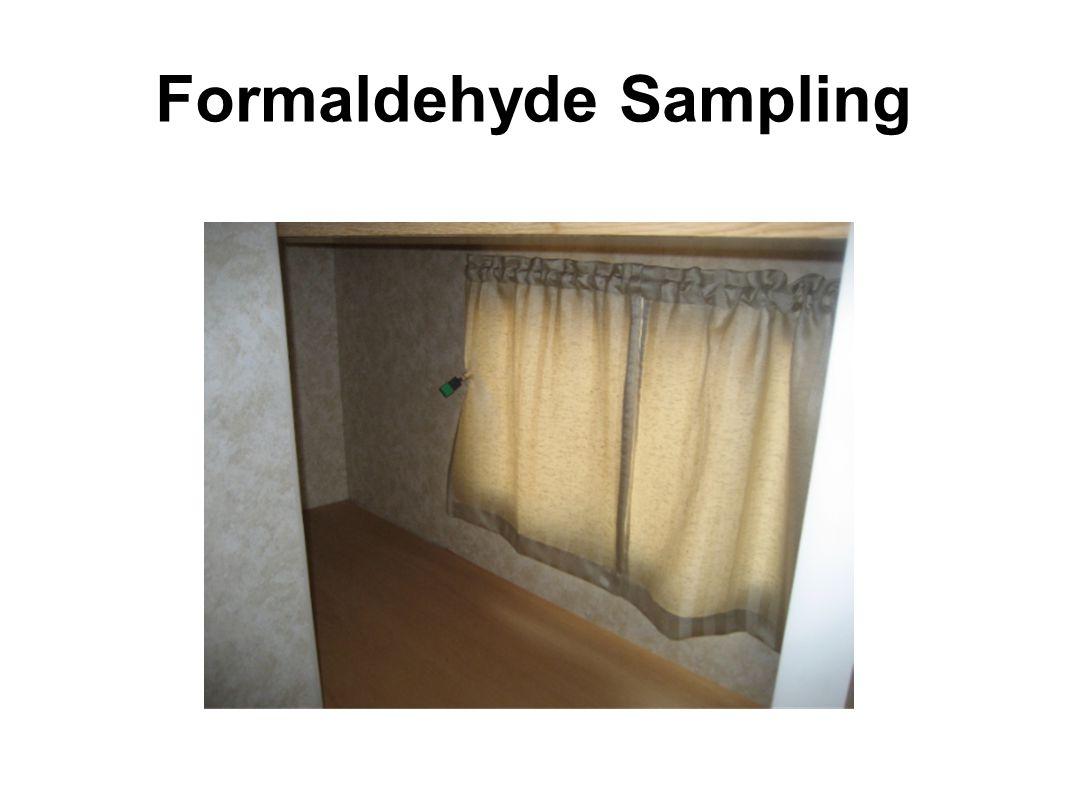 Formaldehyde Sampling