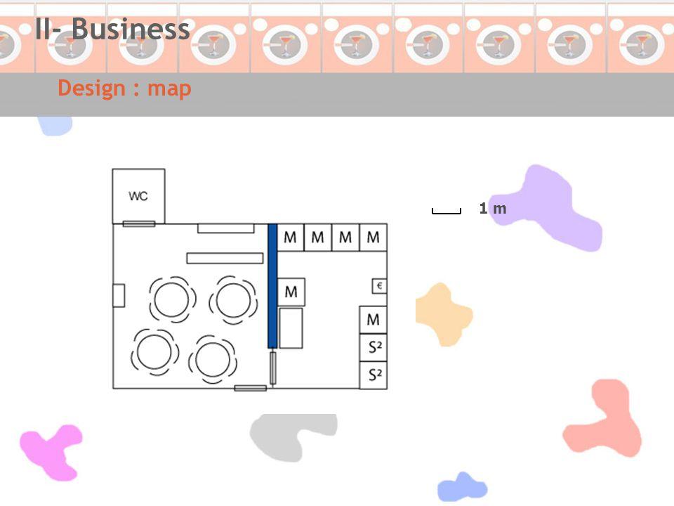 Design : map II- Business 1 m