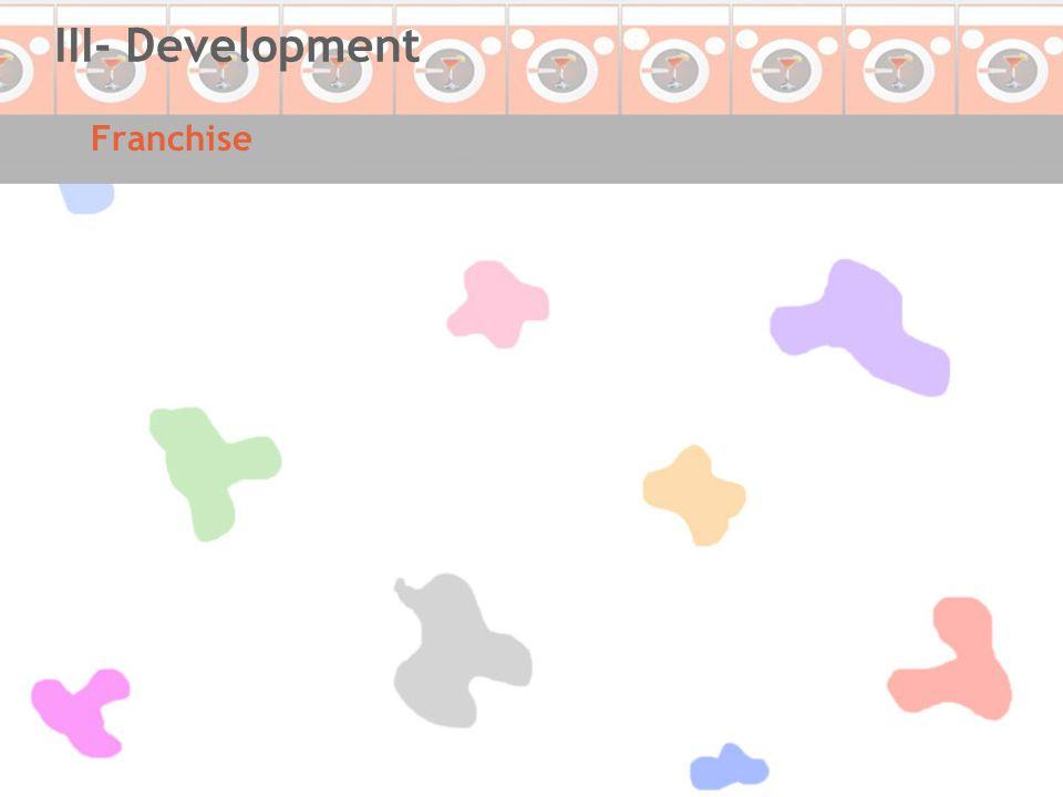 Franchise III- Development