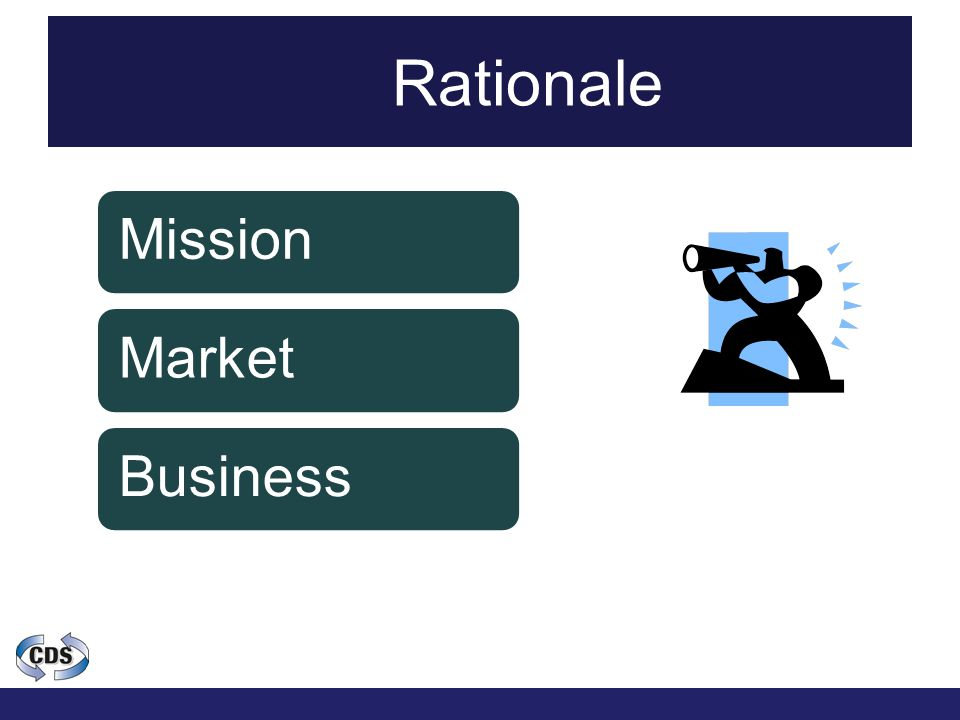 Rationale MissionMarketBusiness