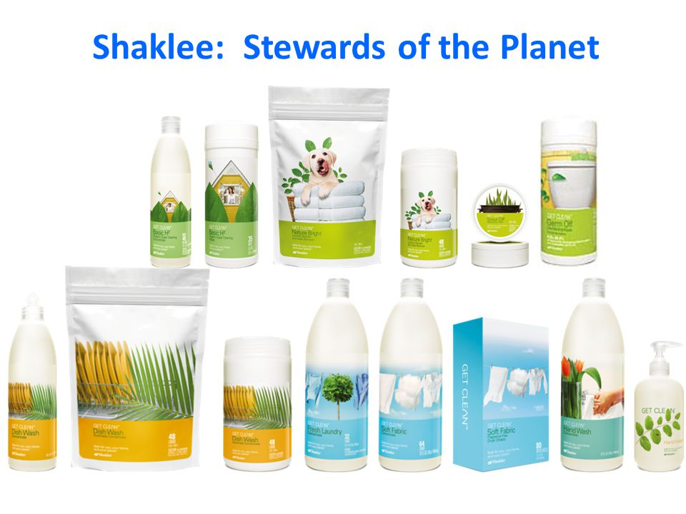 Shaklee: Stewards of the Planet