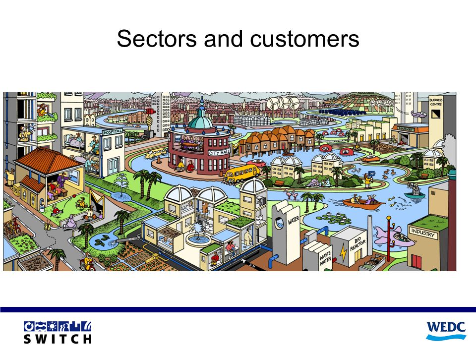 Sectors and customers