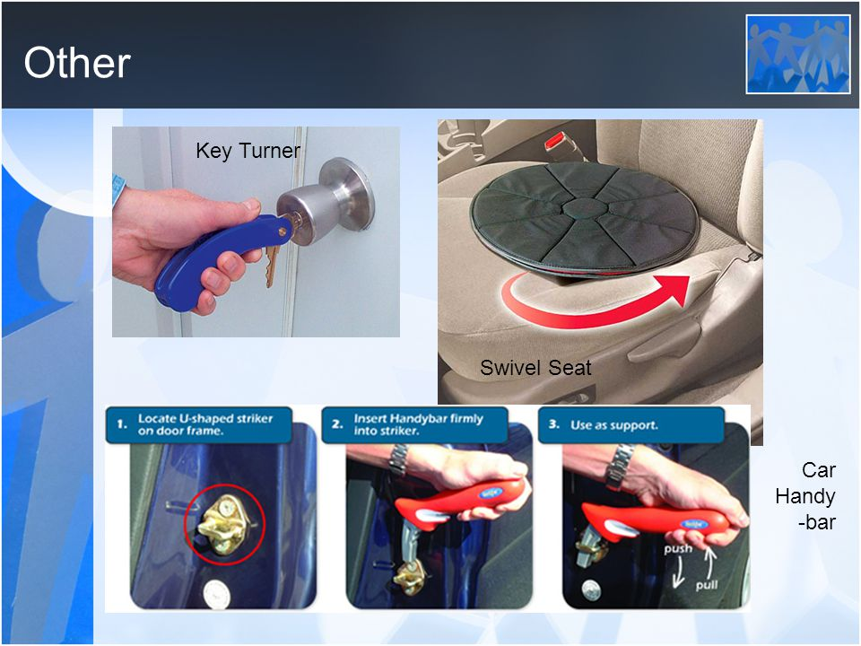 Other Key Turner Swivel Seat Car Handy -bar