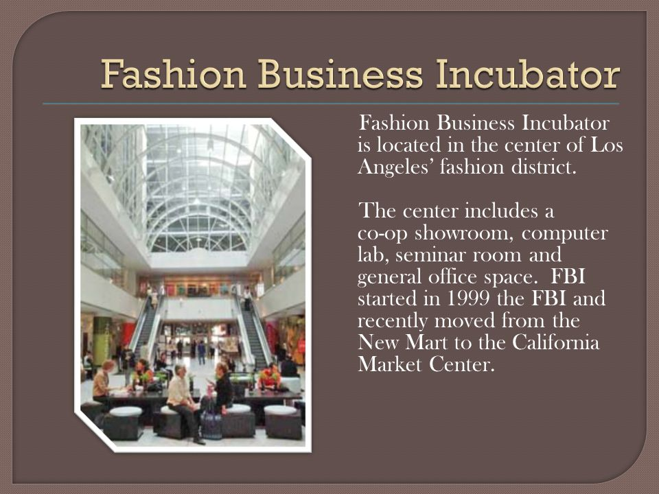 Frances Harder is the President & Founder of the Fashion Business Incorporated (FBI).