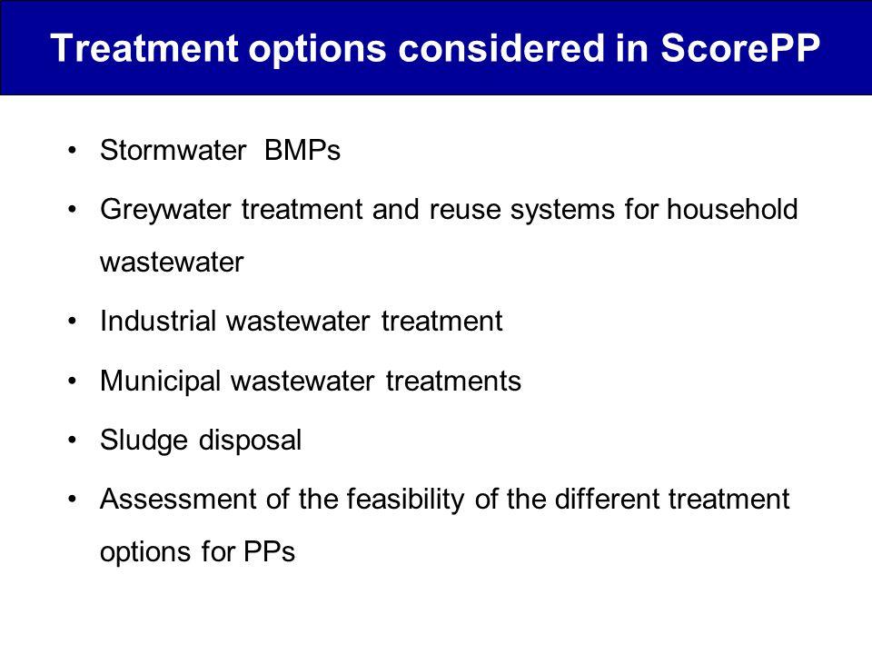 Municipal wastewater treatment plants