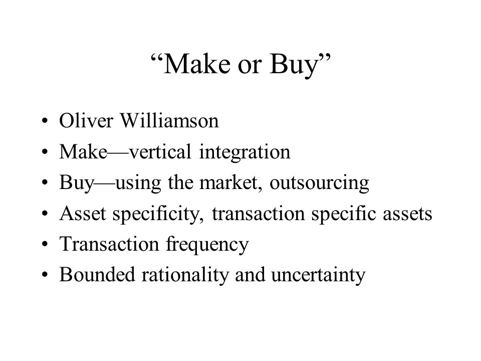 Transaction Specific Assets The assets required of a retailer specific to conducting business with a single supplier.