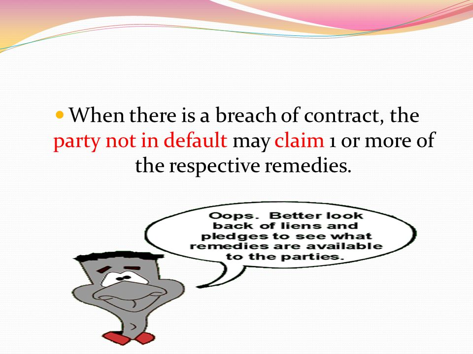Section 11 (1)(c) When the act to be performed is such that pecuniary compensation for its non- performance would not afford adequate relief.