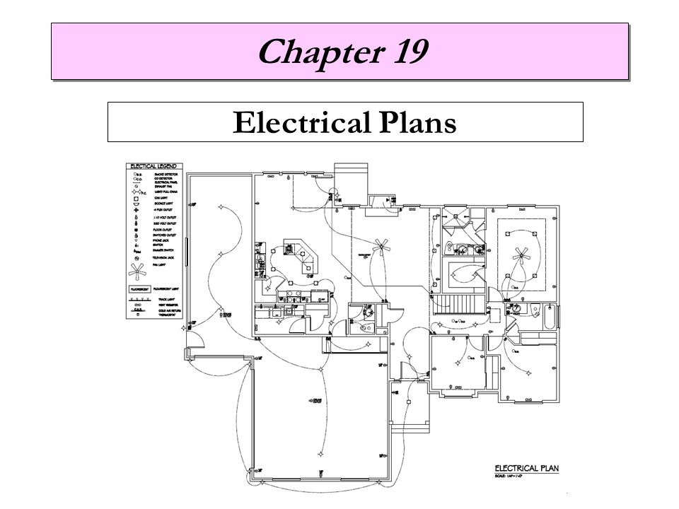 Chapter 19 Electrical Plans
