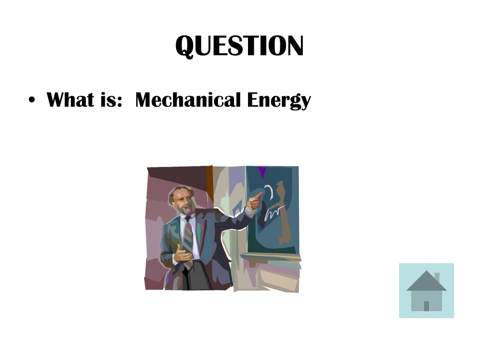 ANSWER A wind-up toy can move because of this type of energy