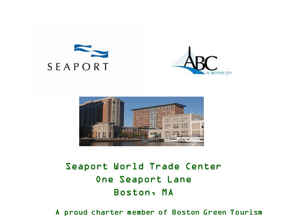 Seaport Saves Overview The origins of our Environmental program date back to 2005 with a request from a group.