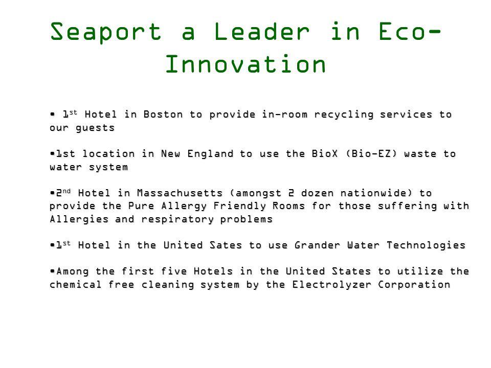 Matt Moore Director of Rooms and Environmental Programs Seaport Hotel Boston, MA 617.385.4511matthew.moore@seaportboston.com