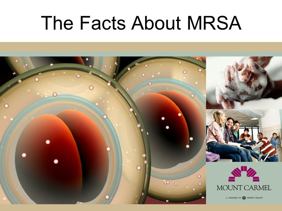Athletes with MRSA For contact sports:  Athletes with active, draining lesions should not participate until infection is healed For non-contact sports:  Cover lesions with a dry bandage  Wash hands before and after sporting events  Disinfect equipment before and after use  Do not use pools, whirlpools or saunas  Do not share uniforms or water bottles  Wash clothing, uniforms and towels after use
