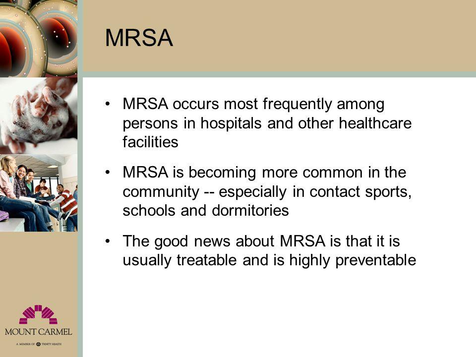 What does MRSA look like.