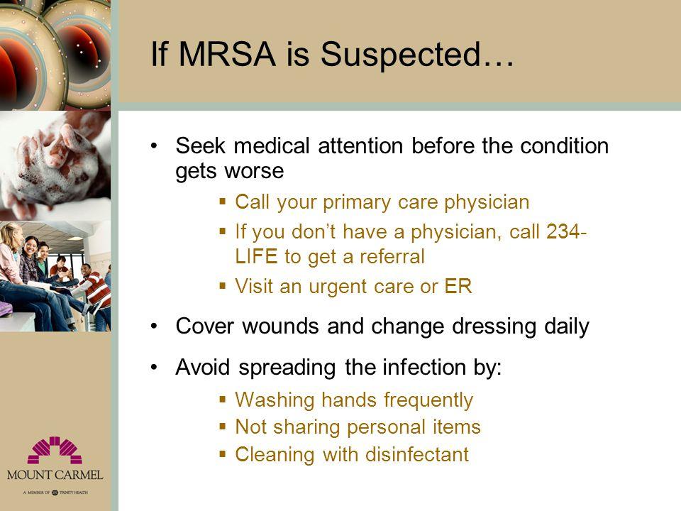 How is MRSA Treated.