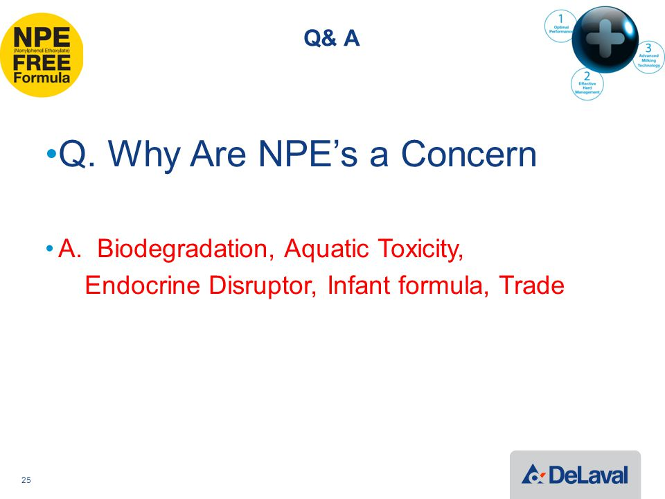 Q& A Q. Why Are NPE's a Concern A.