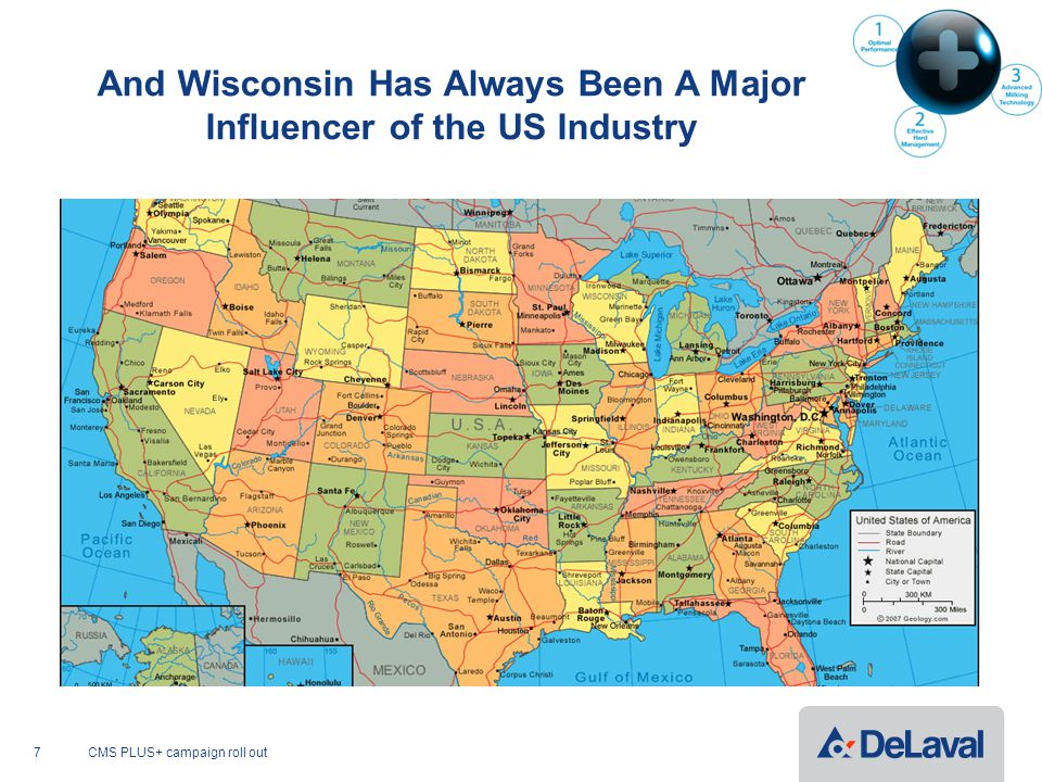 And Wisconsin Has Always Been A Major Influencer of the US Industry CMS PLUS+ campaign roll out7