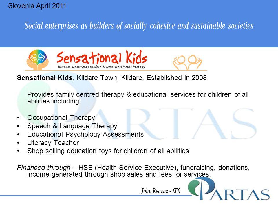 Sensational Kids, Kildare Town, Kildare.