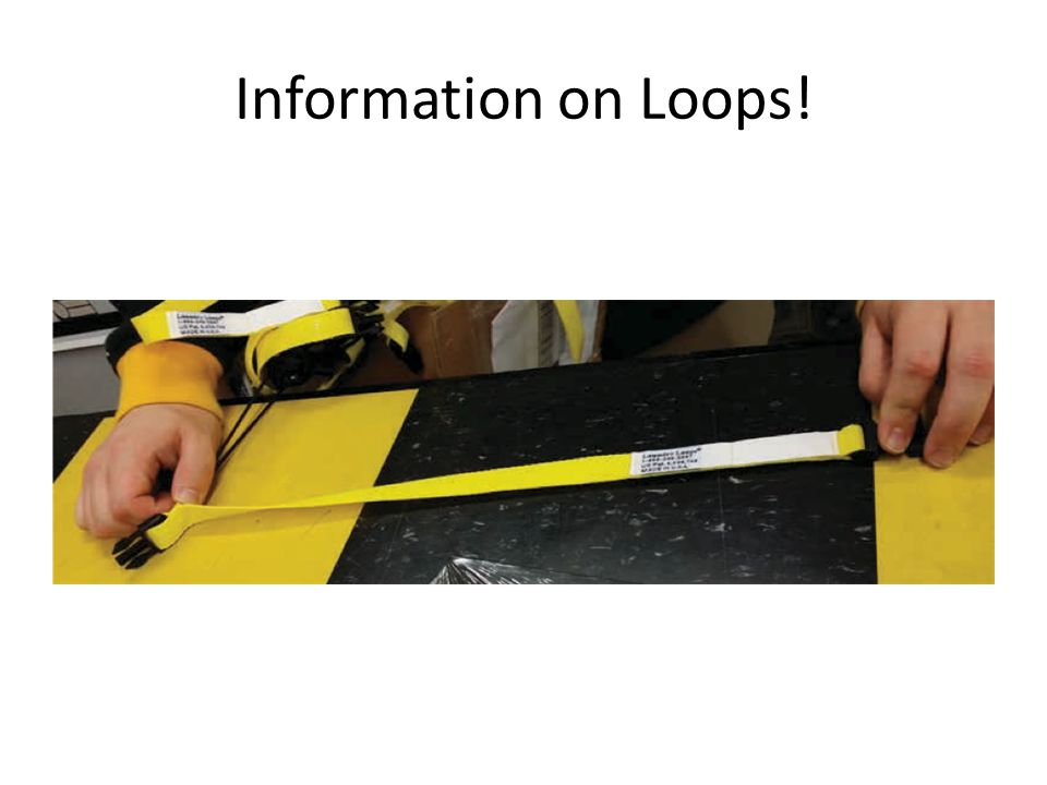 Information on Loops!