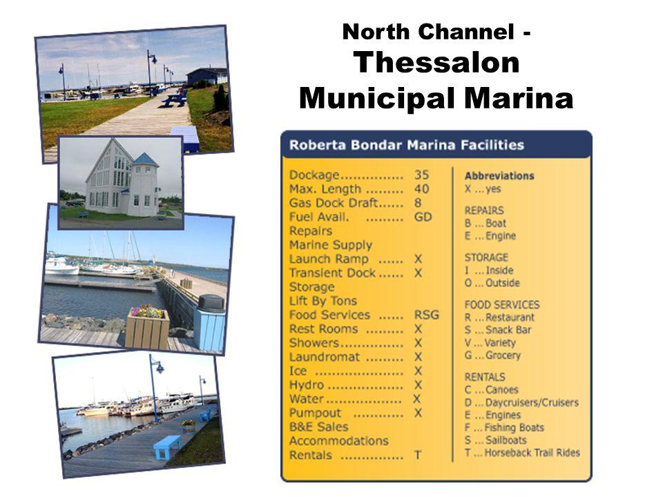 North Channel - Thessalon Municipal Marina