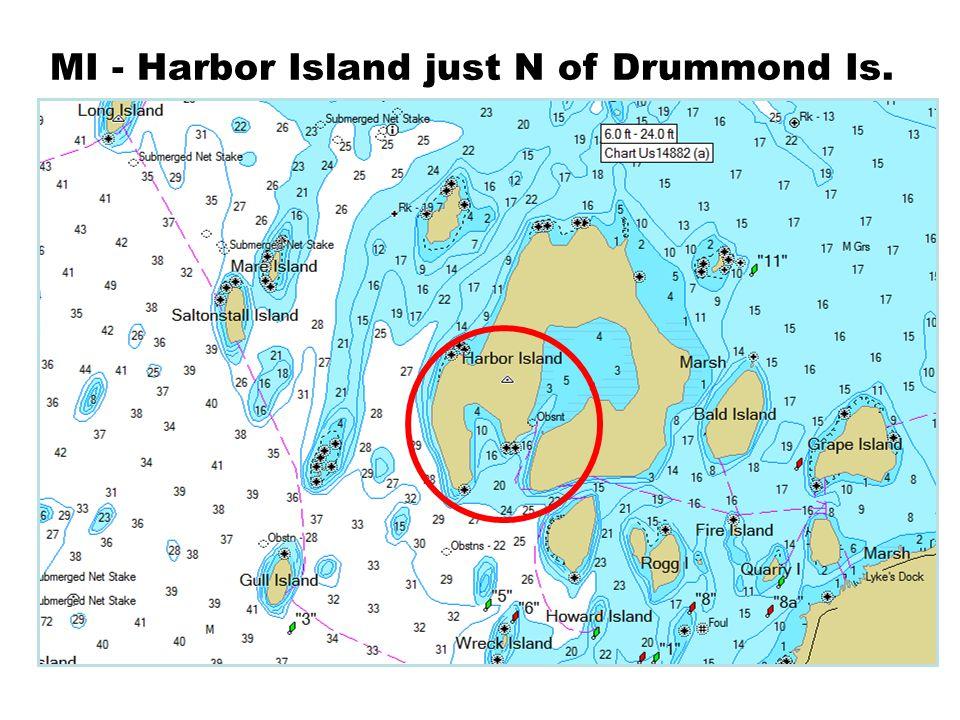 MI - Harbor Island just N of Drummond Is.