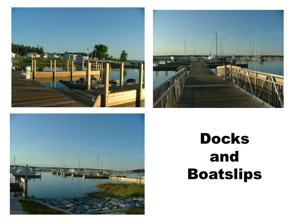 Docks and Boatslips
