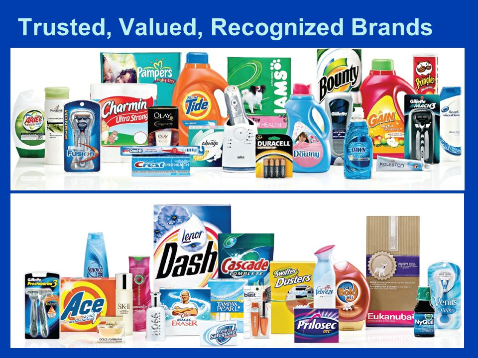 Global Sales North America Western Europe Asia Latin America Central & Eastern Europe, Middle East & Africa P&G sells products in over 180 countries with ground operations in over 80 countries.