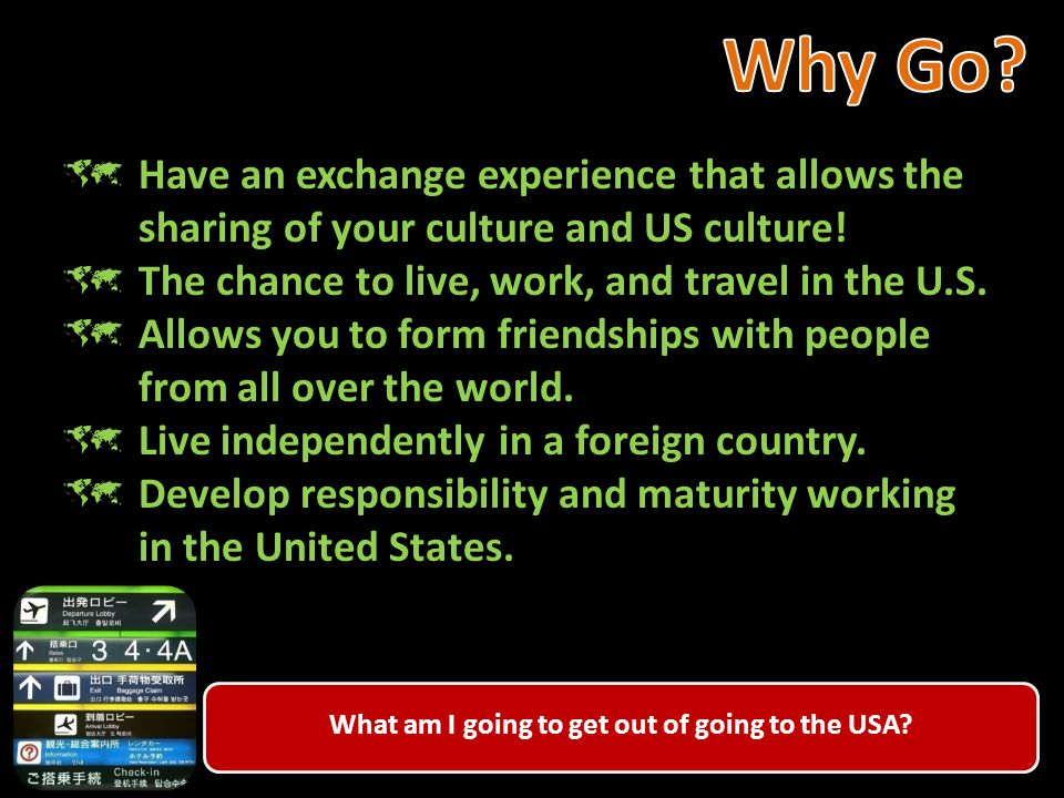  Things to know before arriving in the US. Your arrival in the US.