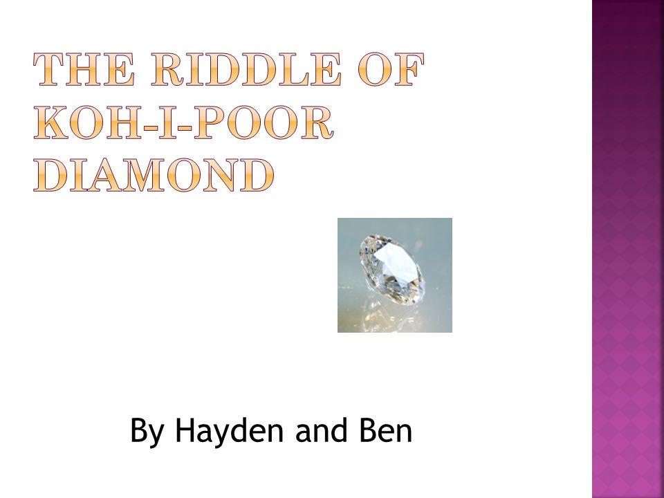 By Hayden and Ben