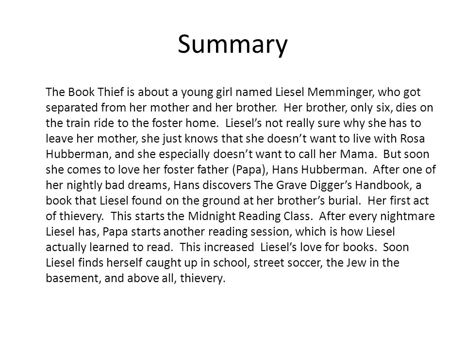 the book thief by markus zusak r e by molly k summary the book  2 summary