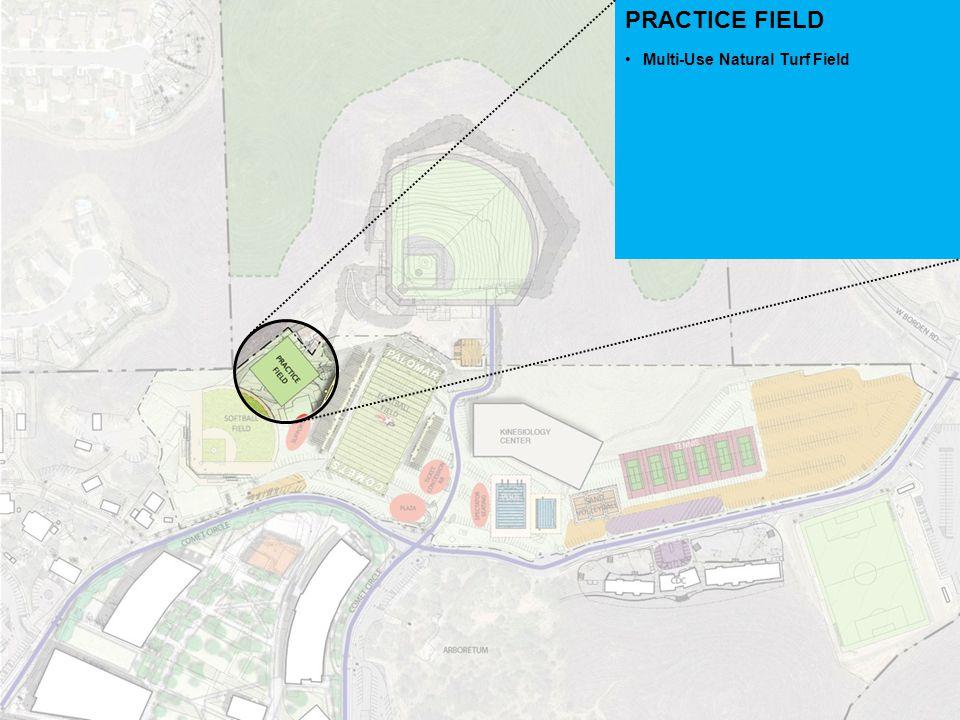 PRACTICE FIELD Multi-Use Natural Turf Field