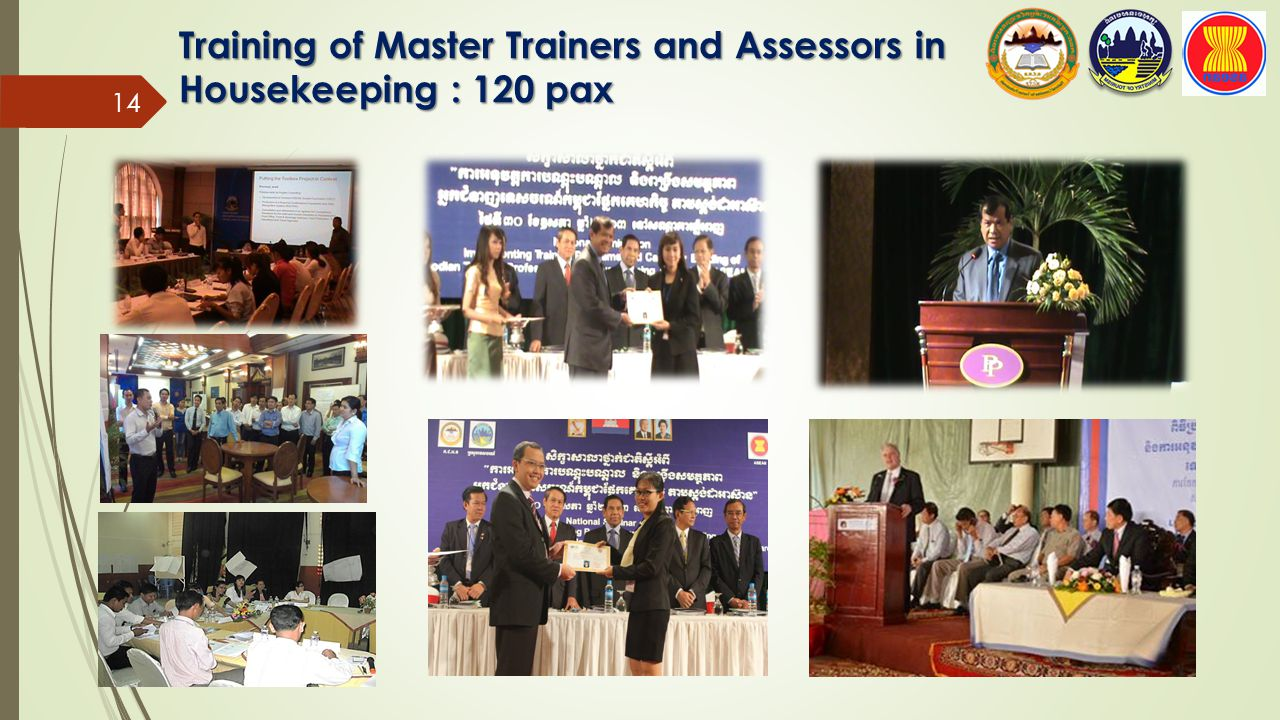 Training of Master Trainers and Assessors in Housekeeping : 120 pax 14