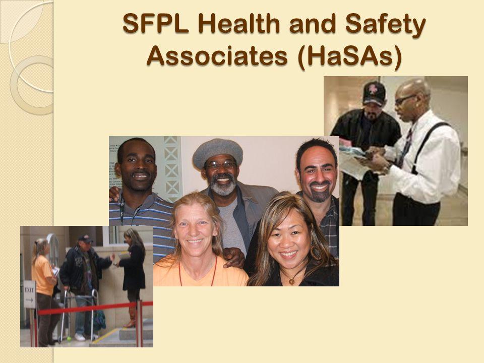 SFPL Health and Safety Associates (HaSAs)