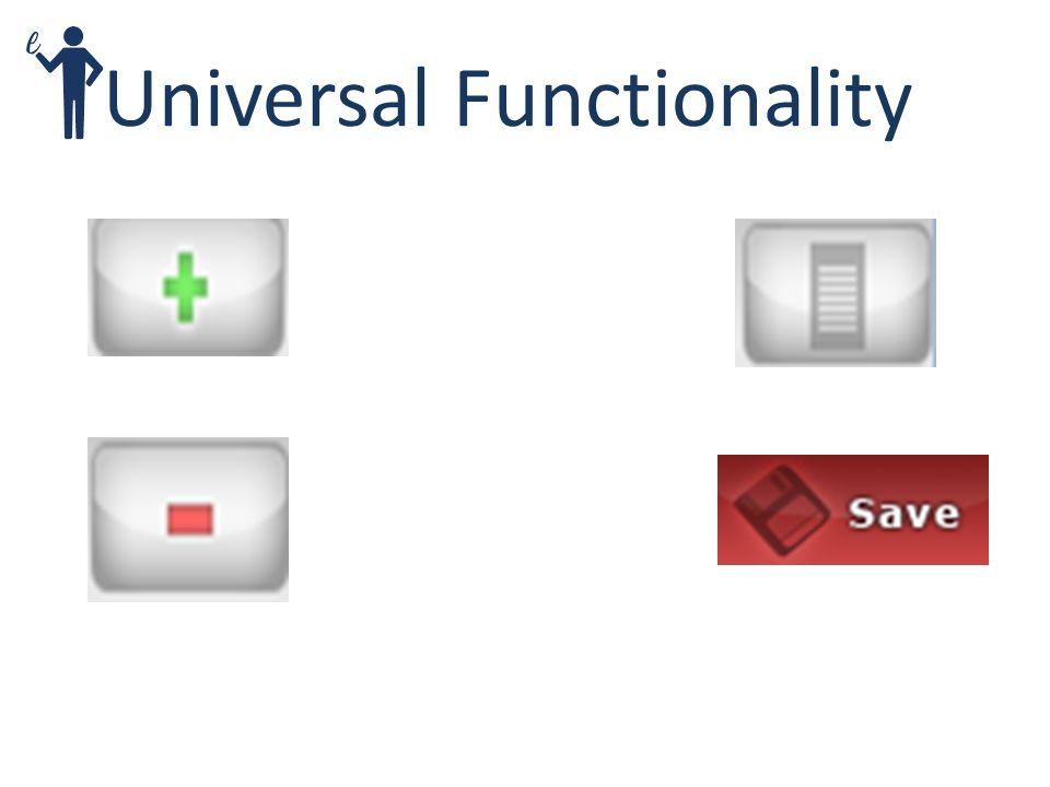 Universal Functionality