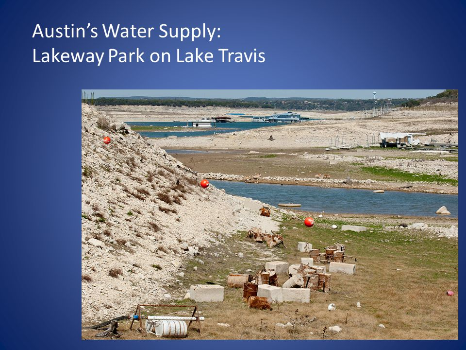Austin's Water Supply: Lakeway Park on Lake Travis
