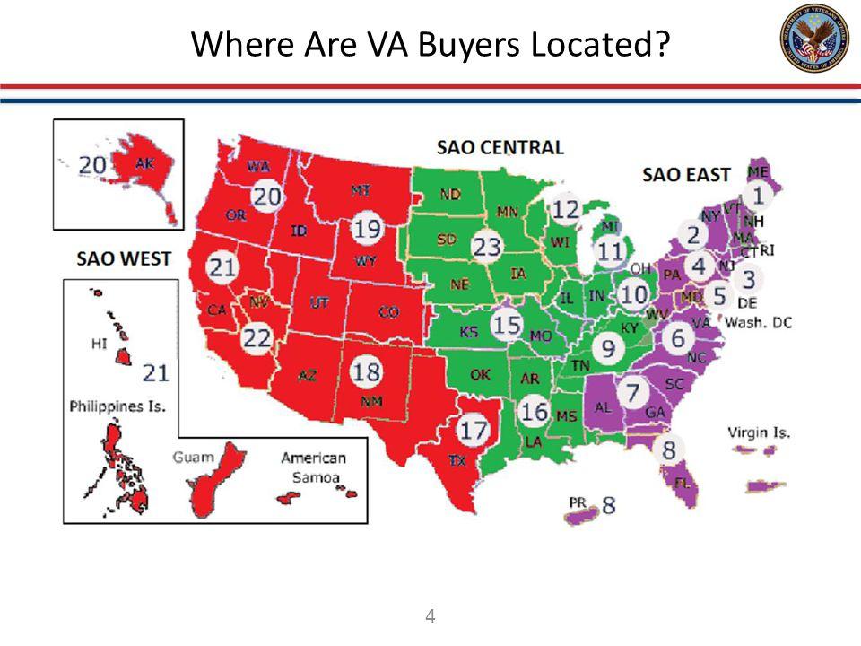 Where Are VA Buyers Located? 4