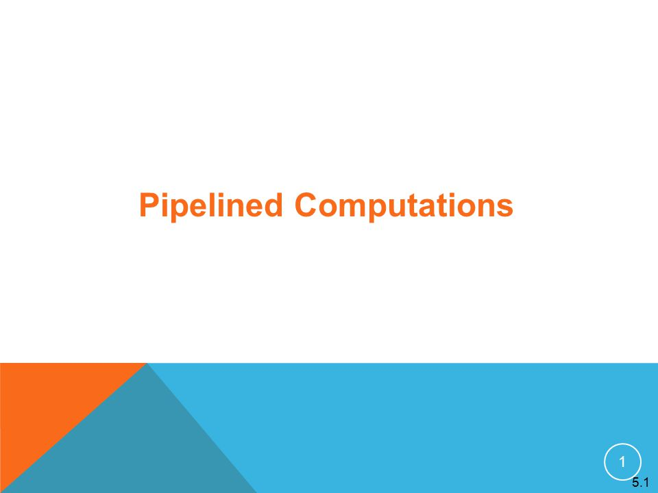 22 Pipelined addition numbers Master process and ring configuration