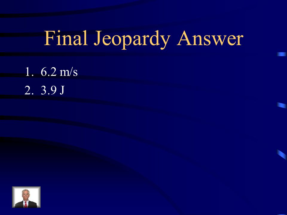 Final Jeopardy: During practice, a student kicks a 0.40 kg soccer ball with a velocity of 8.5 m/s into a 0.15 kg bucket lying on its side. The bucket