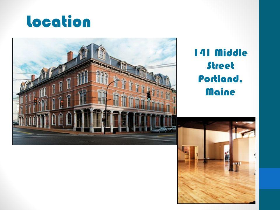 Location 141 Middle Street Portland, Maine