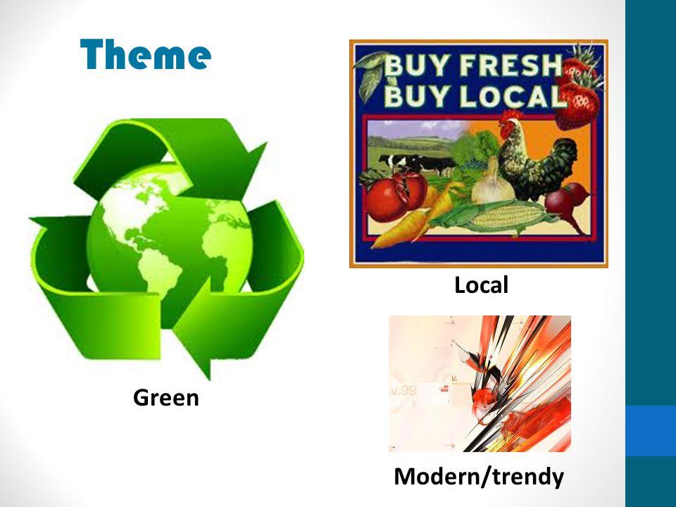 Theme Green Local Modern/trendy