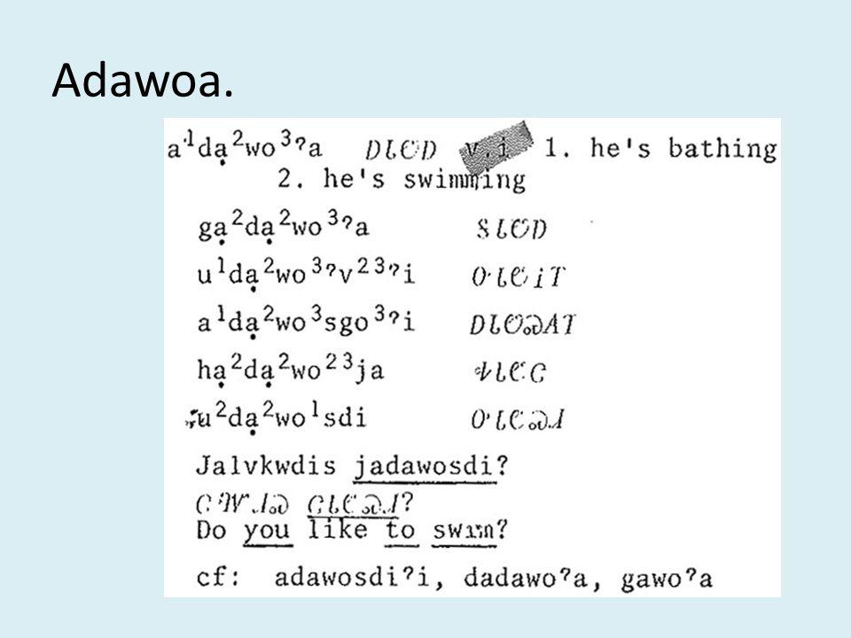 Adawoa.