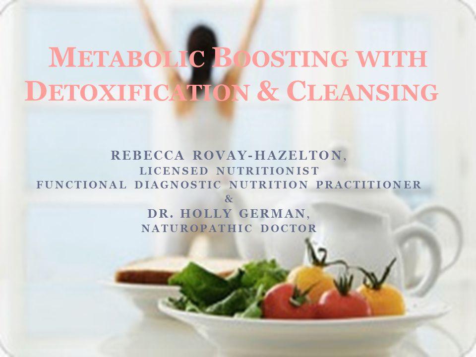 REBECCA ROVAY-HAZELTON, LICENSED NUTRITIONIST FUNCTIONAL DIAGNOSTIC NUTRITION PRACTITIONER & DR.