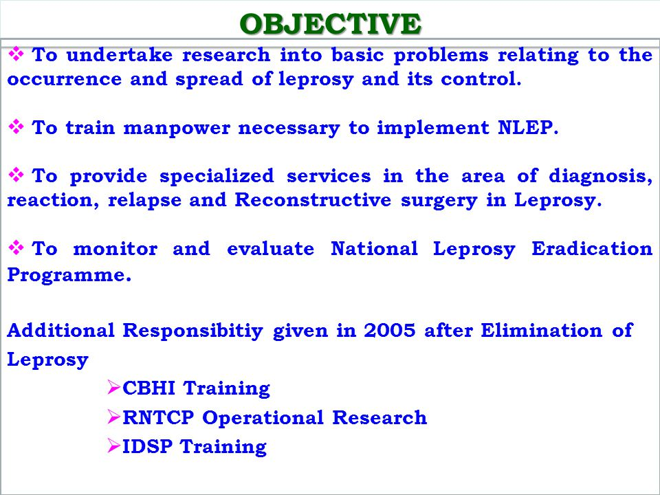Monitoring & Evaluation of NLEP Activities among Tamil Nadu, Karnataka, Kerala and Lakshawdeep states/UT was carried out.
